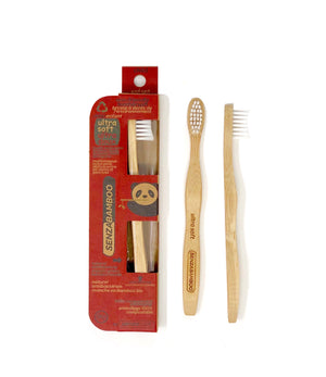 Child Ultra Soft Eco-Friendly Bamboo Toothbrush - Senzacare