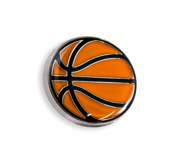 'Basketball' Pin