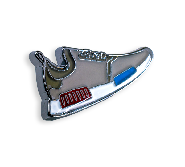 'Basketball Sneaker' Pin
