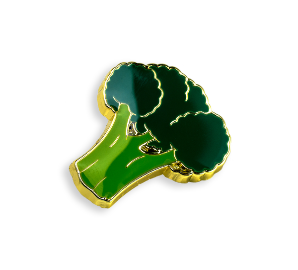 'Broccoli' Pin