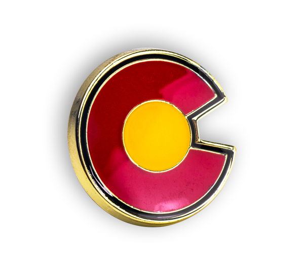 'Colorado C' Pin