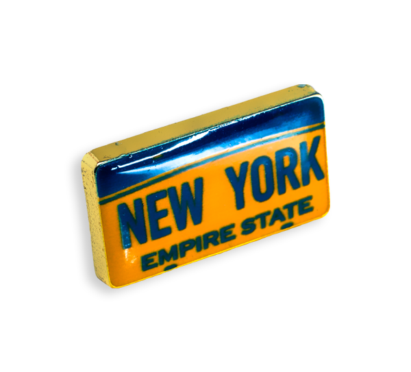 'License Plate' Pin