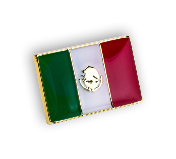 'Mexico Flag' Pin