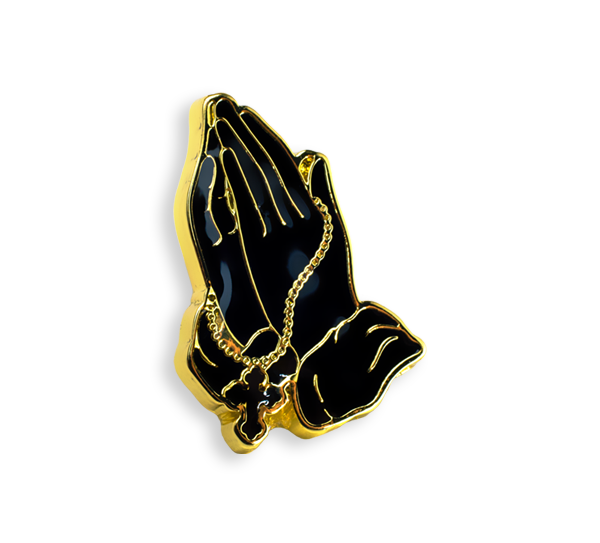 'Praying Hands' Pin