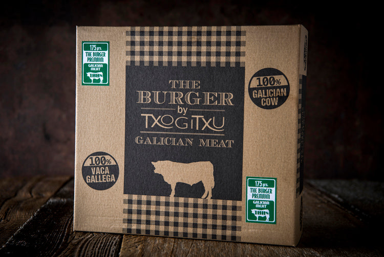 Hamburger 'Txogitxu Galician Premium'