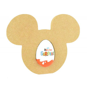 Mouse Head Creme Egg or Kinder Egg Holder - Chocs NOT included