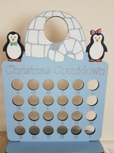 Penguins and Igloo Ferrero Rocher/Lindt and Chocolate Orange Christmas Advent Calendar (Chocs not inc.)