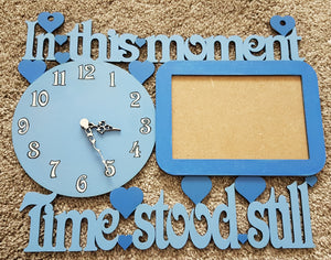 Customisable 'In This Moment Time Stood Still' Sign