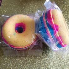 Baby Powder Rainbow Ring Bath Bomb - Suitable for Vegans
