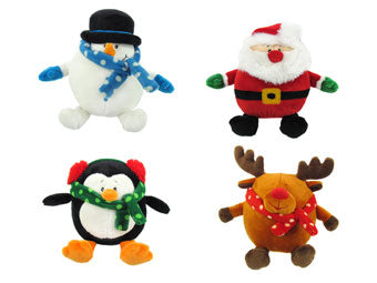 Soft Toy Christmas Characters, 17 cm - choice of 4