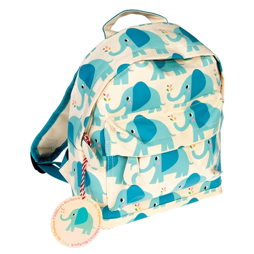 Children's Elvis the Elephant Mini Backpack
