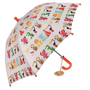 Colourful Creatures Child's Umbrella