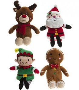 Soft Toy Christmas Characters 9 inches - choice of 4