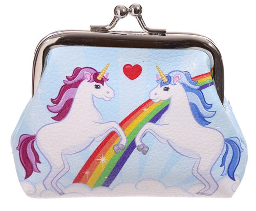 Unicorn Design Coin Purse