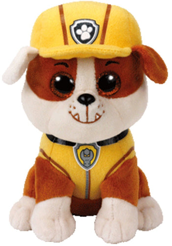 Paw Patrol - Rubble Ty Beanie Soft Toy