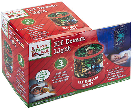 Elves Behavin' Badly: Christmas Elf Dream Night Light (LED)