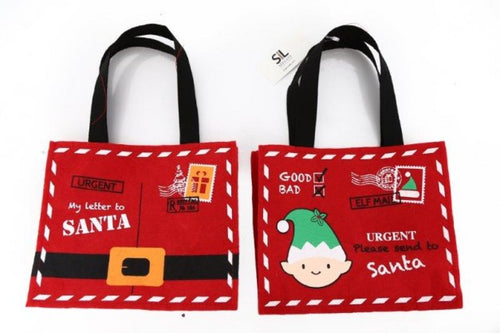 Christmas Felt Bag - Two Designs Available