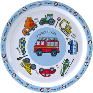 Little Stars Vehicles Plate