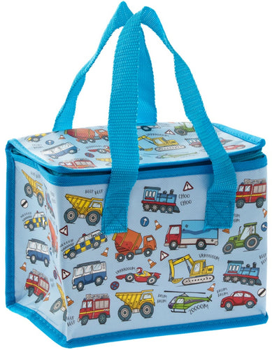 Little Stars Vehicles Insulated Lunch Bag