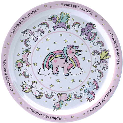 Little Stars Unicorn Plate
