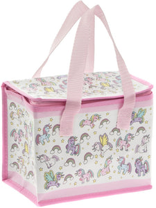 Little Stars Unicorn Insulated Lunch Bag