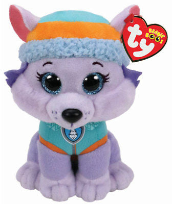 Paw Patrol - Everest Ty Beanie Soft Toy