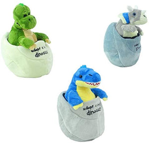 Adopt a Baby Dinosaur (Soft Toy) - Choice of Three