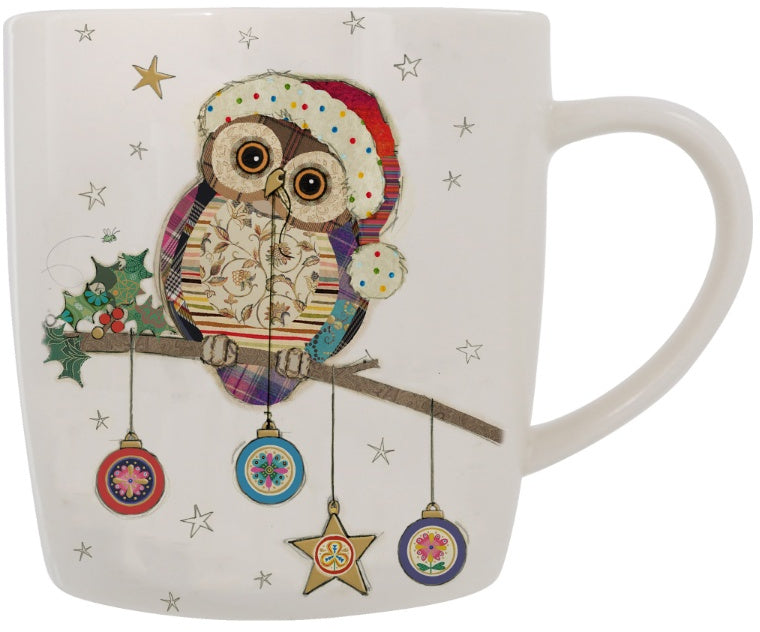 Ollie the Owl Christmas Mug