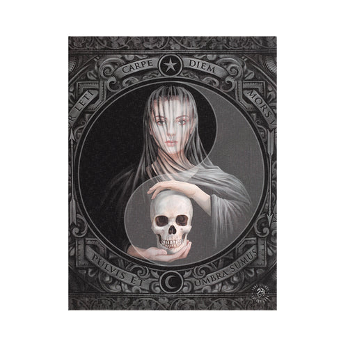 'Beyond the Veil' Canvas Plaque by Anne Stokes - 19 x 25cm