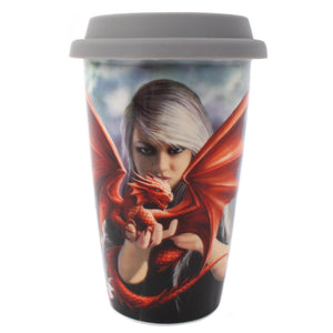 'Dragon Kin' Travel Mug - An Anne Stokes Design
