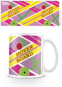 Back To The Future Hover Board Ceramic Mug