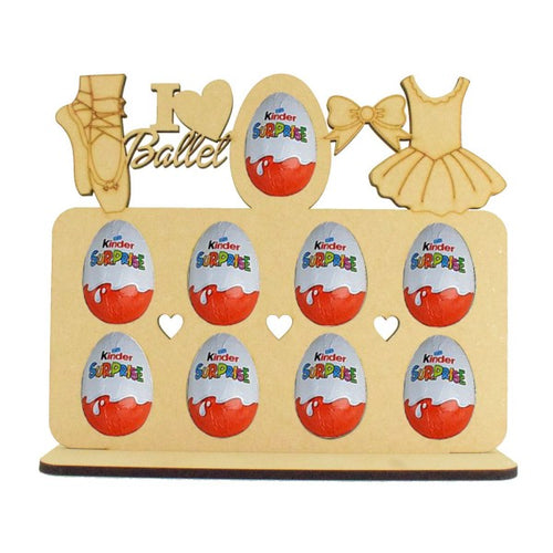 Ballet Themed Kinder Egg Holder - Perfect for Easter...or Just Because!!! (Chocs not. inc.)