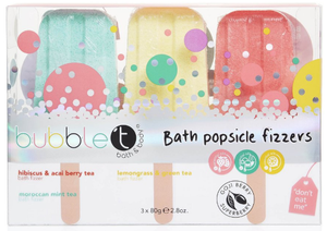 Bubble T Bath Bomb Lolly Fizzers Gift Set