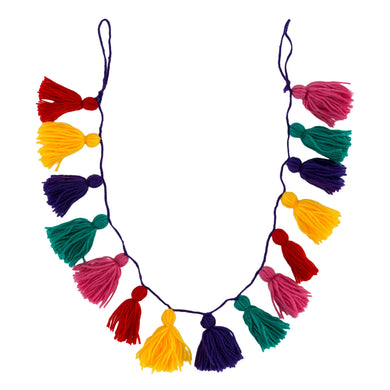 Christmas Colourful Tassel Garland