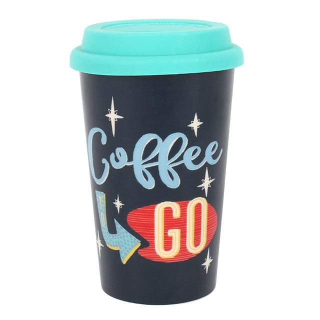 Coffee to Go Thermal Travel Mug