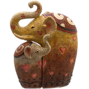 Pair of Elephant Ornaments - LAST CHANCE TO BUY