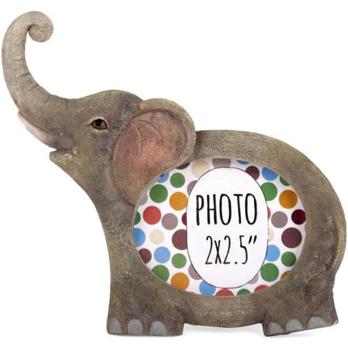 Animal Photo Frames - Elephant, Giraffe, Monkey, Hedgehog, Owl