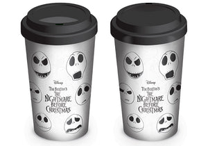 Nightmare Before Christmas 'Faces of Jack' Travel Mug