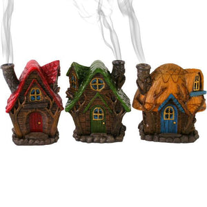 Fairy House incense burner