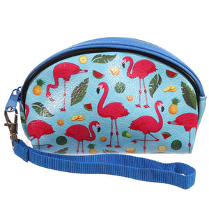 Small Flamingo Makeup Bag