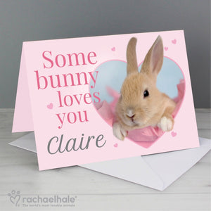 Personalised Rachael Hale 'Some Bunny' Card (FREE SHIPPING)