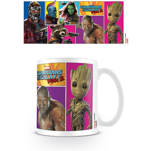 Guardians of the Galaxy (Vol 2) Comic Panel Mug