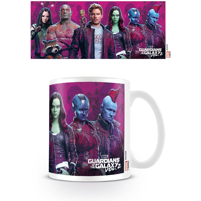 Guardians of the Galaxy (Vol 2) Characters Mug