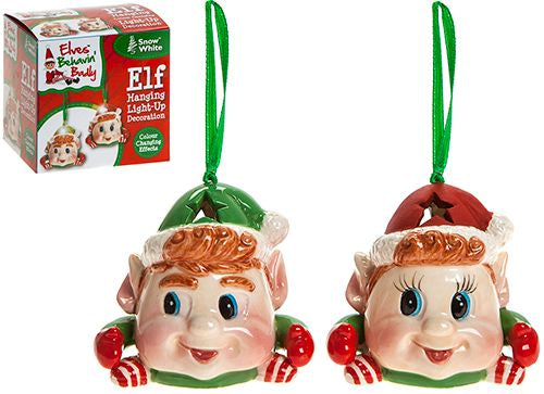Christmas Hanging Elf Decoration