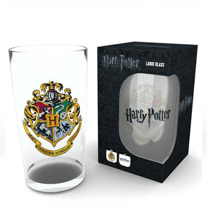 Harry Potter Hogwarts - Large Glass