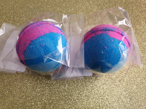 Blue Raspberry Bath Bomb - Suitable for Vegans