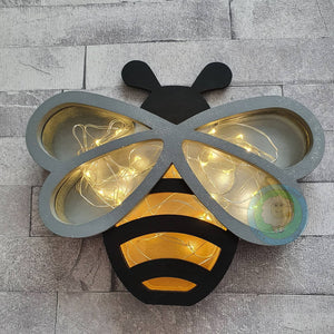 Customisable Wooden Bee (Chocolate) Holder - can be Personalised