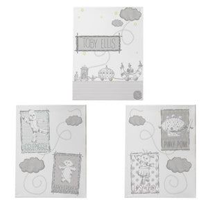 Personalised In The Night Garden Magic Garden Set of 3 Canvas'