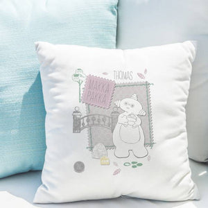 Personalised In The Night Garden Makka Pakka Stamp Cushion