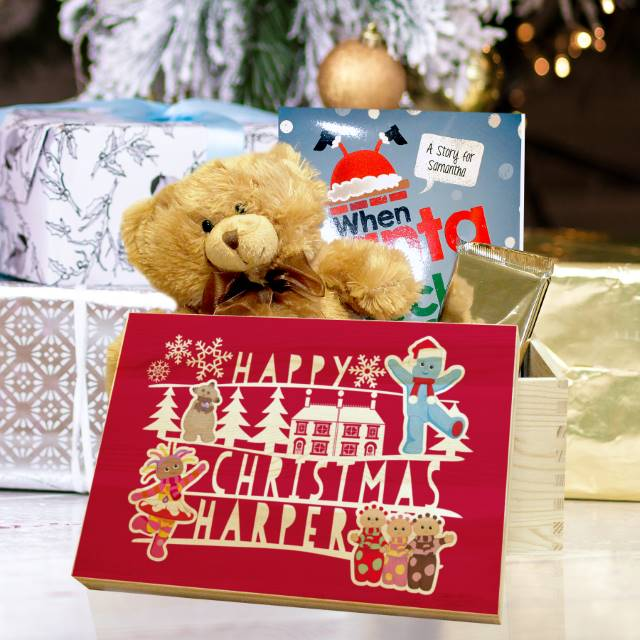 Personalised In The Night Garden Red Christmas Eve Box